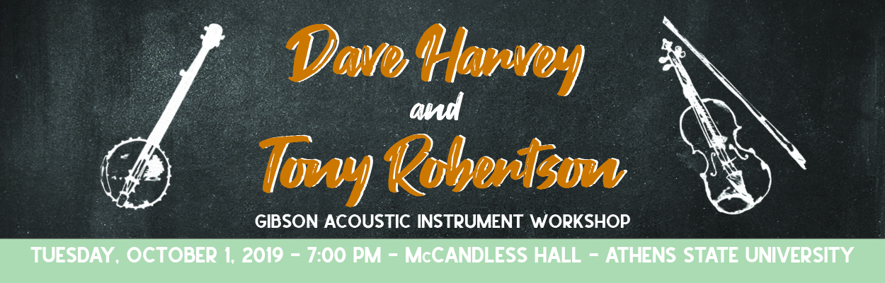 Dave Harvey and Tony Robertson Gibson Acoustic Instrument Workshop